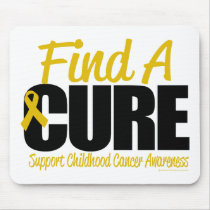 Childhood Cancer Find A Cure Mouse Pad