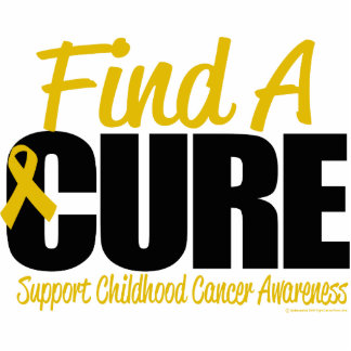 Childhood Cancer Find A Cure Cut Out