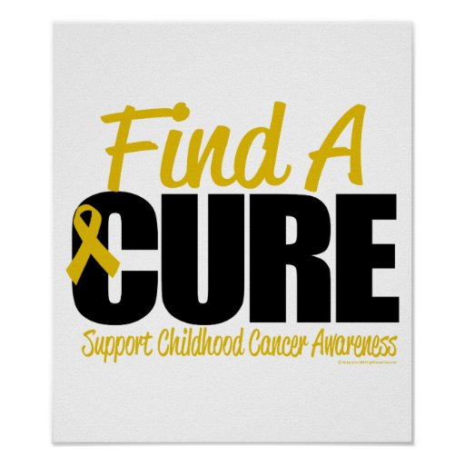 Childhood Cancer Find A Cure Print