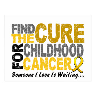 Childhood Cancer Find The Cure 1 Post Card