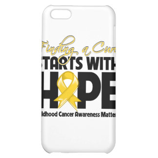 Childhood Cancer Finding a Cure Starts With Hope iPhone 5C Cover