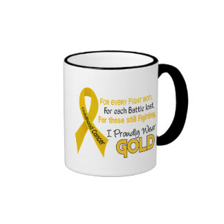 Childhood Cancer For Every…..I Proudly Wear Gold 1 Mugs