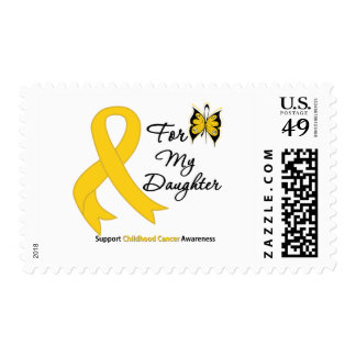 Childhood Cancer For My Daughter Postage Stamp