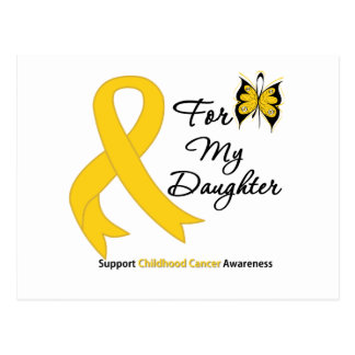 Childhood Cancer For My Daughter Postcard