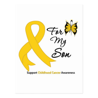Childhood Cancer For My Son Post Cards