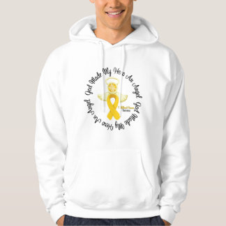 Childhood Cancer God Made My Hero An Angel Pullover