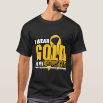 Childhood Cancer Gold for Granddaughter T-Shirt
