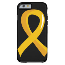 Childhood Cancer Gold Ribbon 3 Tough iPhone 6 Case