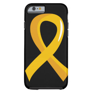 Childhood Cancer Gold Ribbon 3 iPhone 6 Case