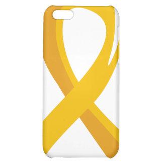 Childhood Cancer Gold Ribbon 3 iPhone 5C Case
