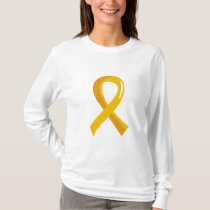 Childhood Cancer Gold Ribbon 3 T-Shirt