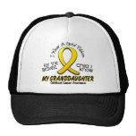 Childhood Cancer Gold Ribbon For My Granddaughter Trucker Hat
