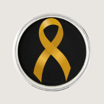 Childhood Cancer Gold Ribbon Lapel Pin
