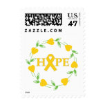 Childhood Cancer Hearts of Hope Stamp