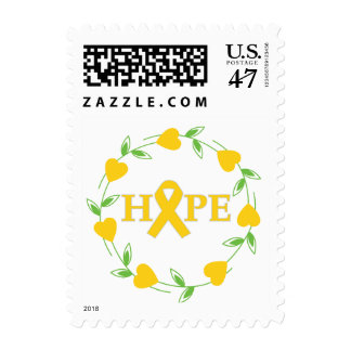 Childhood Cancer Hearts of Hope Stamp