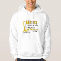 Childhood Cancer Heroes All Sizes 1 Daughter Hoodie