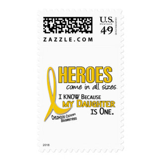 Childhood Cancer Heroes All Sizes 1 Daughter Postage Stamps