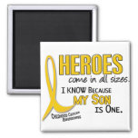 Childhood Cancer Heroes All Sizes 1 Son Refrigerator Magnet