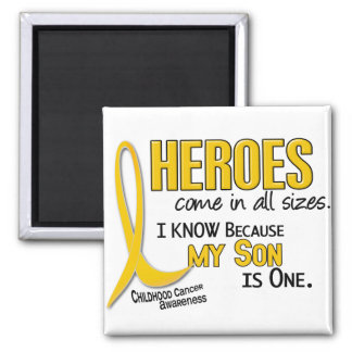 Childhood Cancer Heroes All Sizes 1 Son Magnet