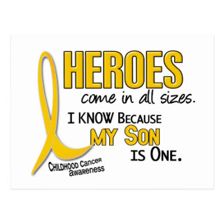 Childhood Cancer Heroes All Sizes 1 Son Postcard