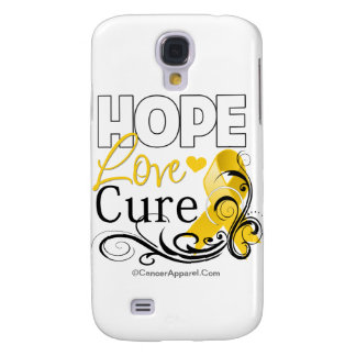 Childhood Cancer Hope Love Cure Samsung Galaxy S4 Cover