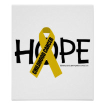 Childhood Cancer Hope Poster