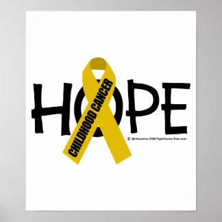 Childhood Cancer Hope Poster