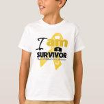 Childhood Cancer - I am a Survivor T-Shirt