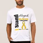 Childhood Cancer I Stand Alongside My Cousin T-shirts