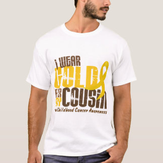 Childhood Cancer I WEAR GOLD FOR MY COUSIN 6.3 T-Shirt