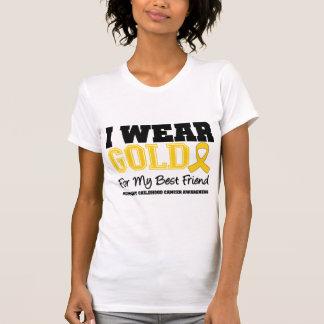 Childhood Cancer I Wear Gold Ribbon Best Friend T-Shirt