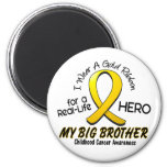 Childhood Cancer I Wear Gold Ribbon For My Brother Magnet