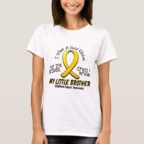 Childhood Cancer I Wear Gold Ribbon For My Brother T-Shirt