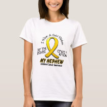 Childhood Cancer I Wear Gold Ribbon For My Nephew T-Shirt