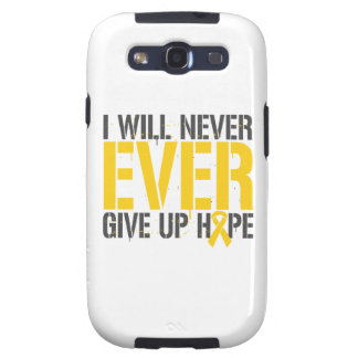 Childhood Cancer I Will Never Ever Give Up Hope Galaxy S3 Covers