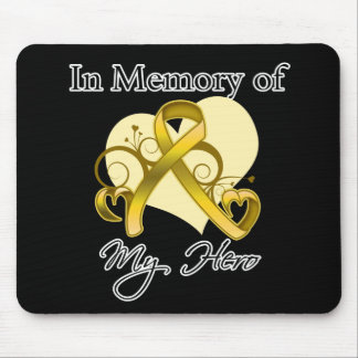 Childhood Cancer In Memory of My Hero Mouse Pad