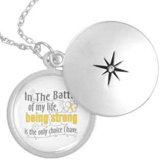 Childhood Cancer  In The Battle Pendant