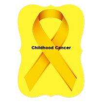 Childhood Cancer Invitation