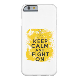 Childhood Cancer Keep Calm and Fight On Barely There iPhone 6 Case