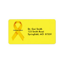 Childhood Cancer Label