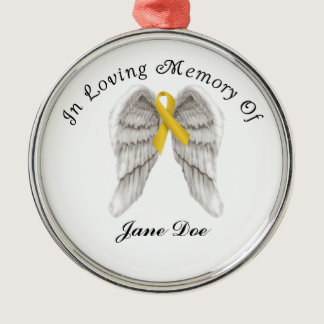 Childhood Cancer Memory Ornament