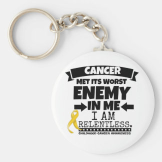 Childhood Cancer Met Its Worst Enemy in Me Keychain