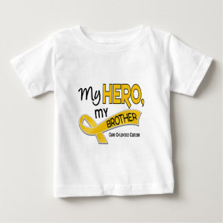 Childhood Cancer MY HERO MY BROTHER 42 Baby T-Shirt