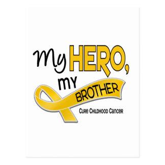 Childhood Cancer MY HERO MY BROTHER 42 Postcard
