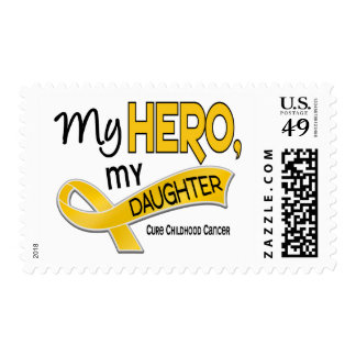 Childhood Cancer MY HERO MY DAUGHTER 42 Postage