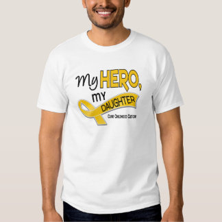 Childhood Cancer MY HERO MY DAUGHTER 42 T-Shirt