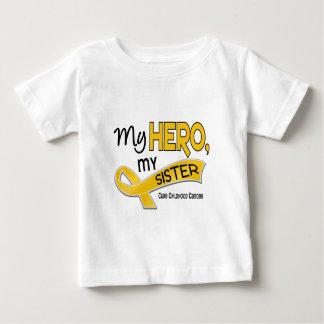 Childhood Cancer MY HERO MY SISTER 42 Baby T-Shirt
