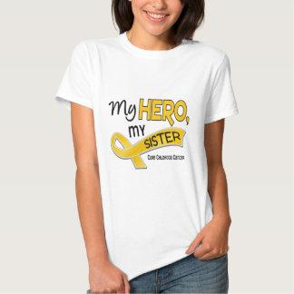 Childhood Cancer MY HERO MY SISTER 42 T-Shirt