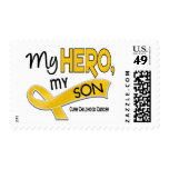 Childhood Cancer MY HERO MY SON 42 Stamps