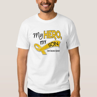 Childhood Cancer MY HERO MY SON 42 T-Shirt
